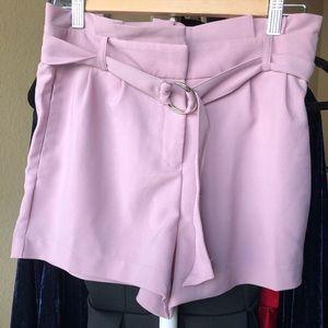Baby pink/purple shorts